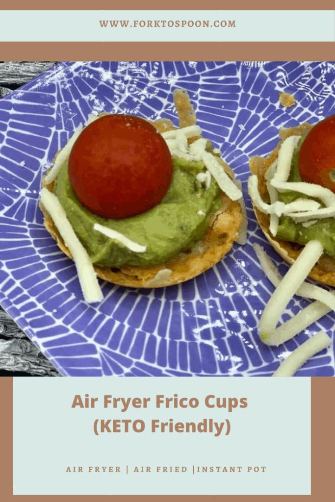Air Fryer KETO FRico Cups