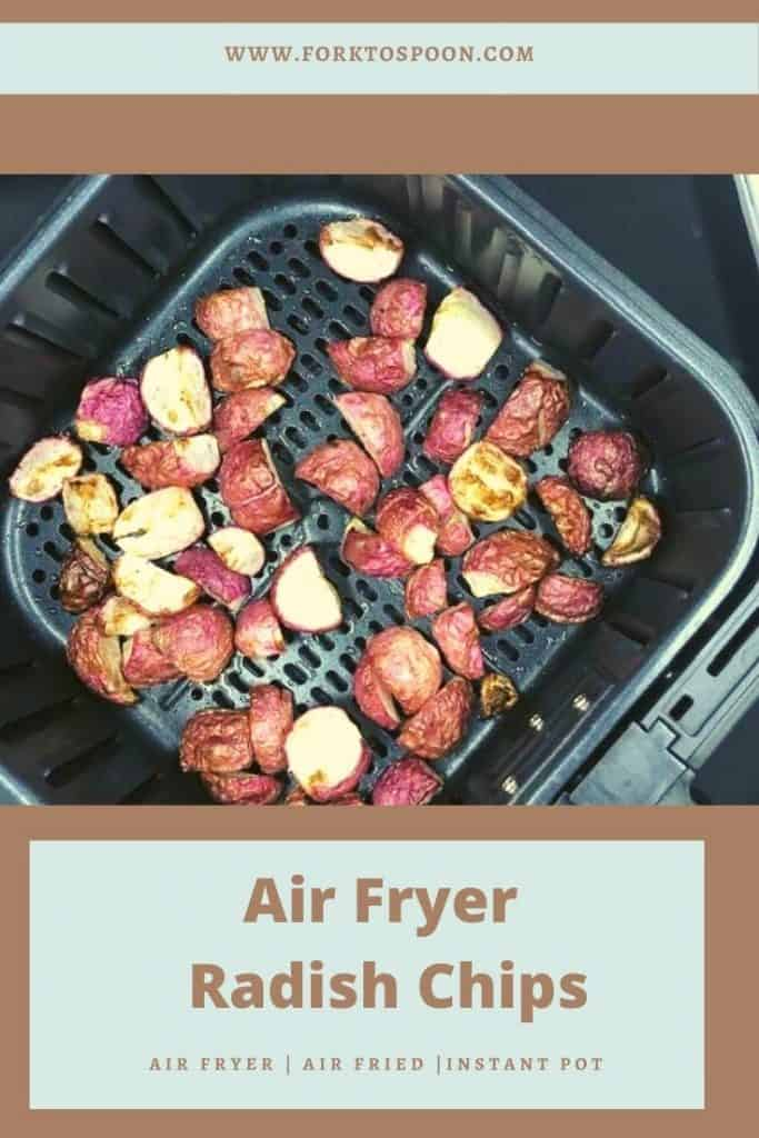 Air Fryer Roasted Radish