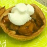 Air Fryer Peach Pie