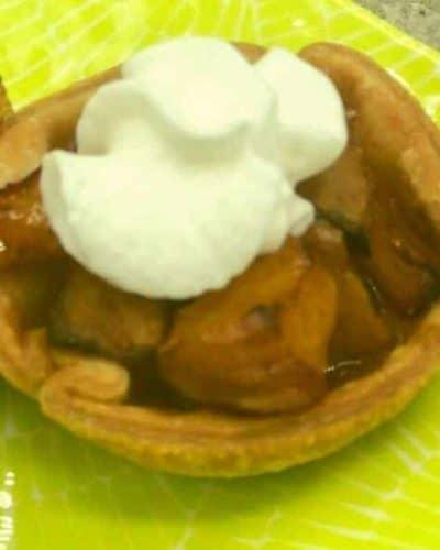 Air Fryer Peach Pie
