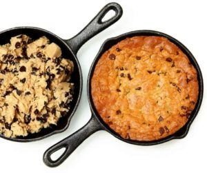 Air Fryer Chocolate Chip Skillet