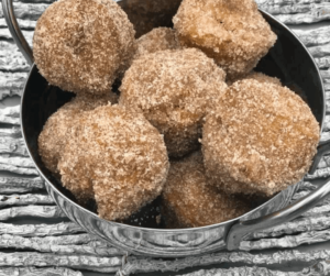 Air Fryer Pumpkin Donut Holes