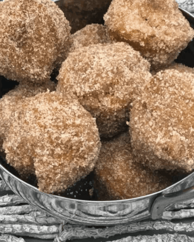 Air Fryer Pumpkin Donut Holes