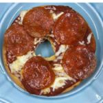 Air Fryer Homemade Pizza Bagel