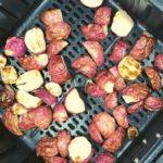 Air Fryer Roasted Radishes
