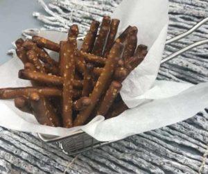 Air Fryer Easy Ranch Pretzels