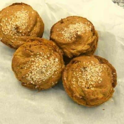 Air Fryer Pumpkin Muffins