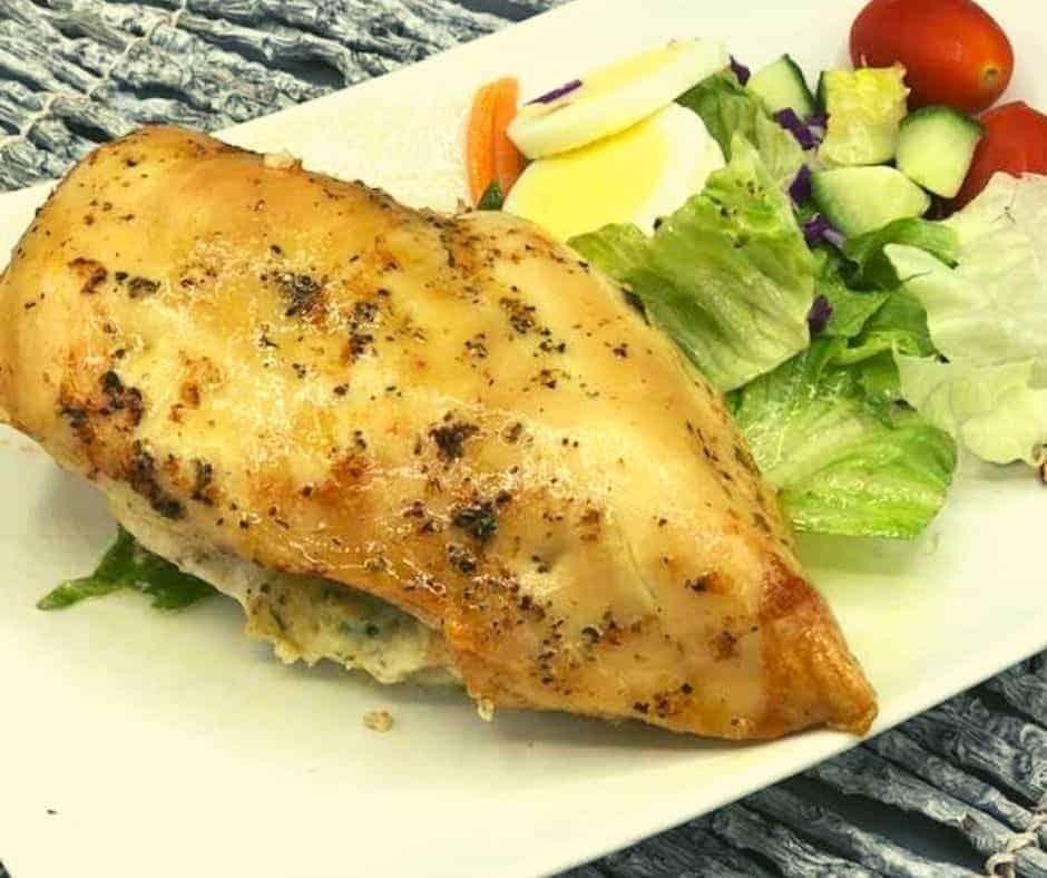 Air Fryer Stuffed Chicken breasts
