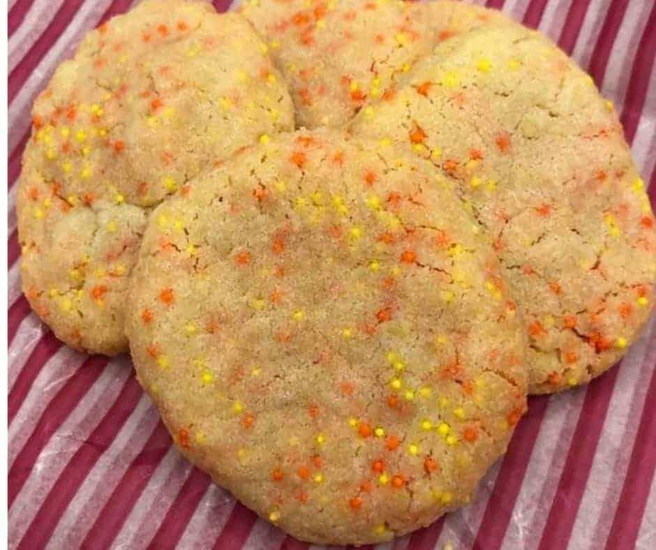 Air Fryer Butter Cookies