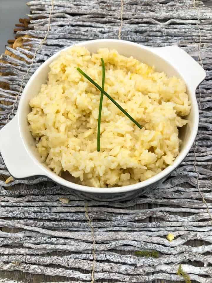 Instant Pot Parmesan Risotto