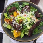 Air Fryer Steak Salad