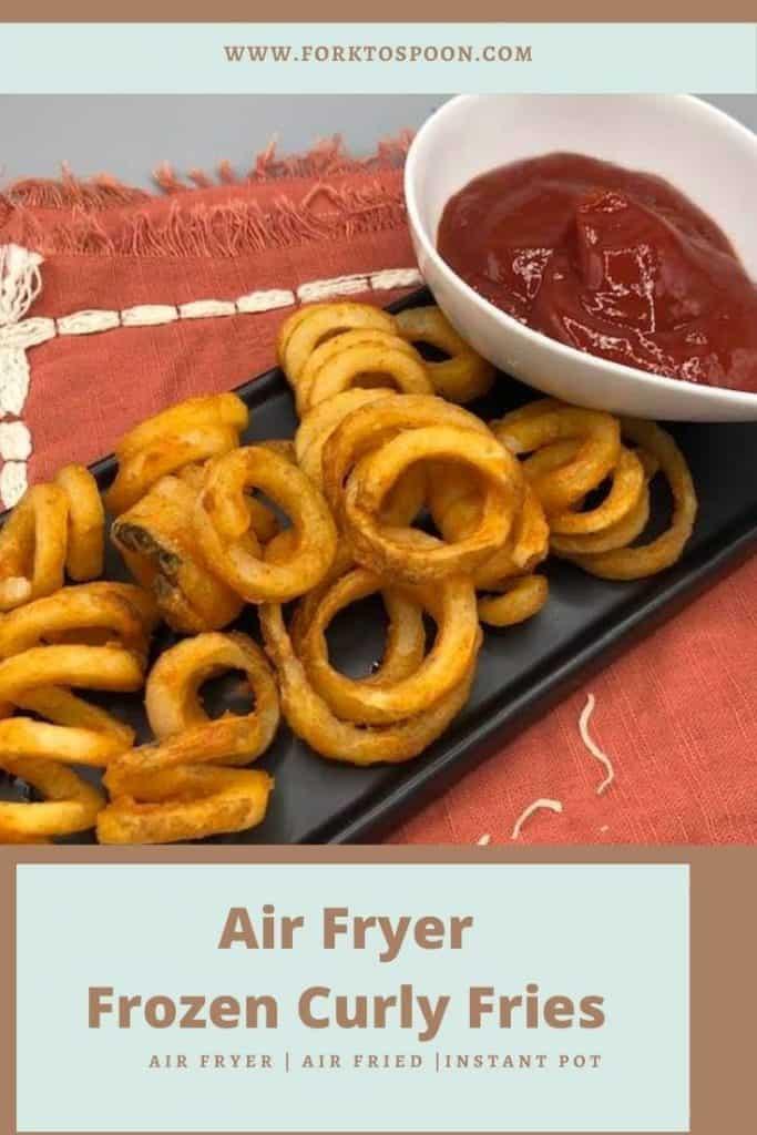Air Fryer Frozen Curly Fries