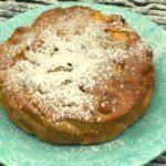 Air Fryer Apple Cake