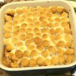Air Fryer Sweet Potato Casserole