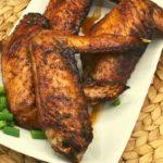Air Fryer Honey Roasted Turkey Wings