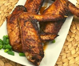 Air Fryer Honey Roasted Turkey Wings
