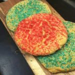 Air Fryer Christmas Sugar Cookies
