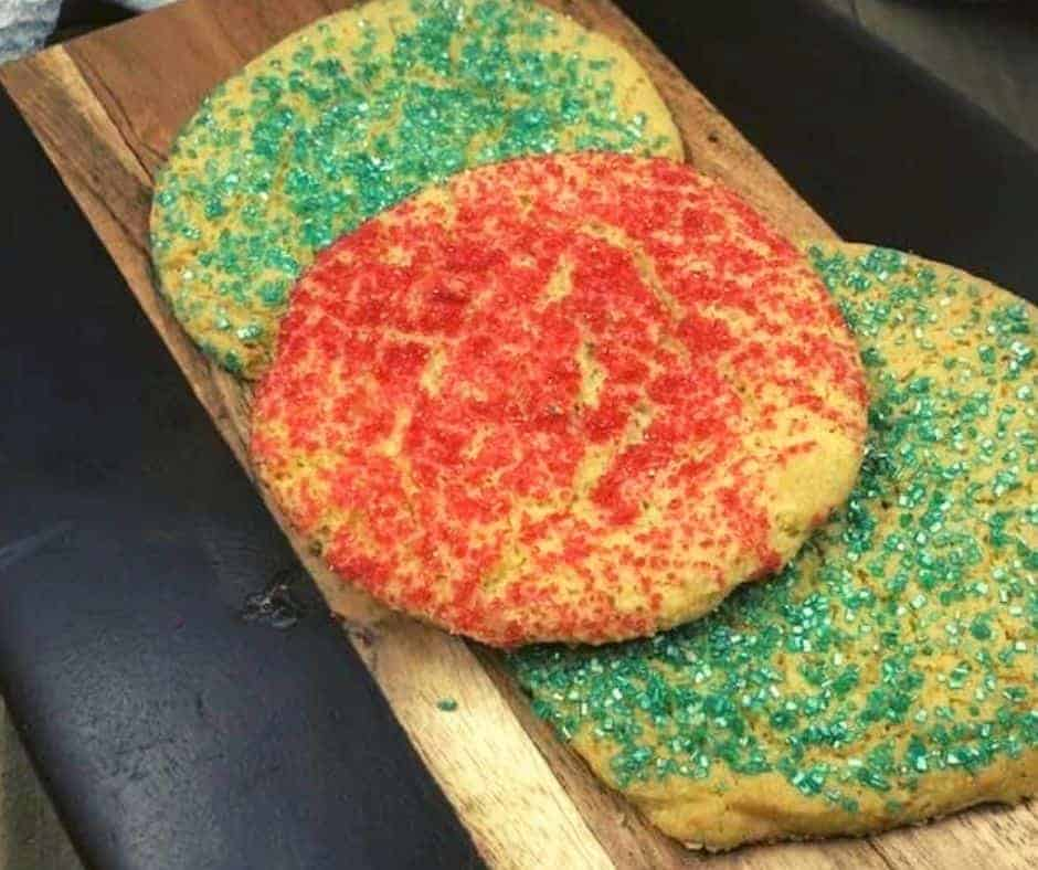 Air Fryer Christmas Sugar Cookies