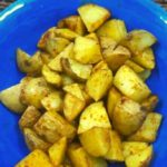 Air Fryer Herb-Garlic Roasted Potatoes