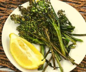 Air Fryer Broccoli Rabe