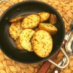 Air Fryer Crispy Garlic Roasted Potatoes