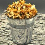 Air Fryer Caramel Popcorn