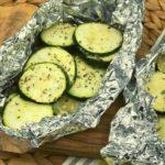 Air Fryer Zucchini Packets