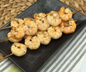 Air Fryer Honey Garlic Shrimp