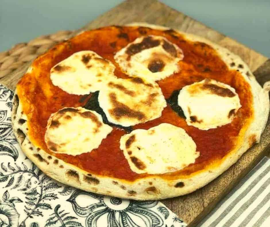 Air Fryer Margherita Pizza