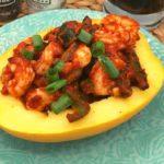 Air Fryer Indian Butter Shrimp