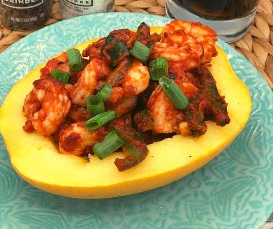 Air Fryer Indian Butter Shrimp
