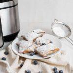 Air Fryer Blueberry Cheesecake Egg Rolls