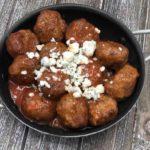 Air Fryer Buffalo Meatballs