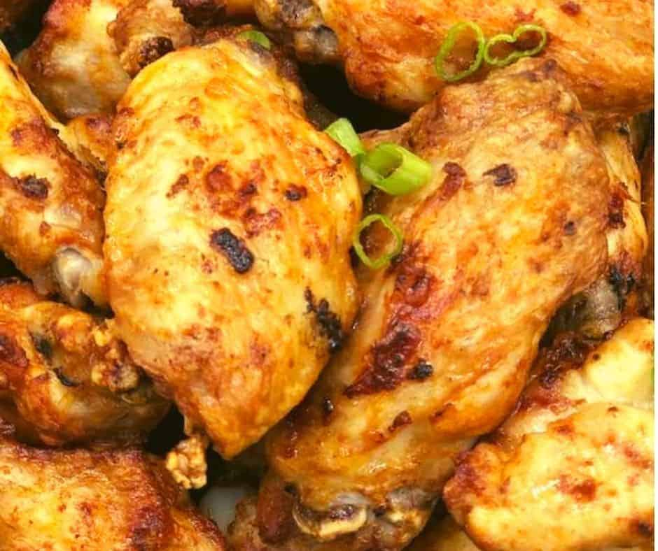 Air Fryer Paprika Chicken Wings