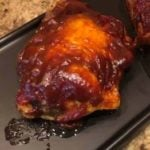 Air Fryer BBQ Chicken Thighs