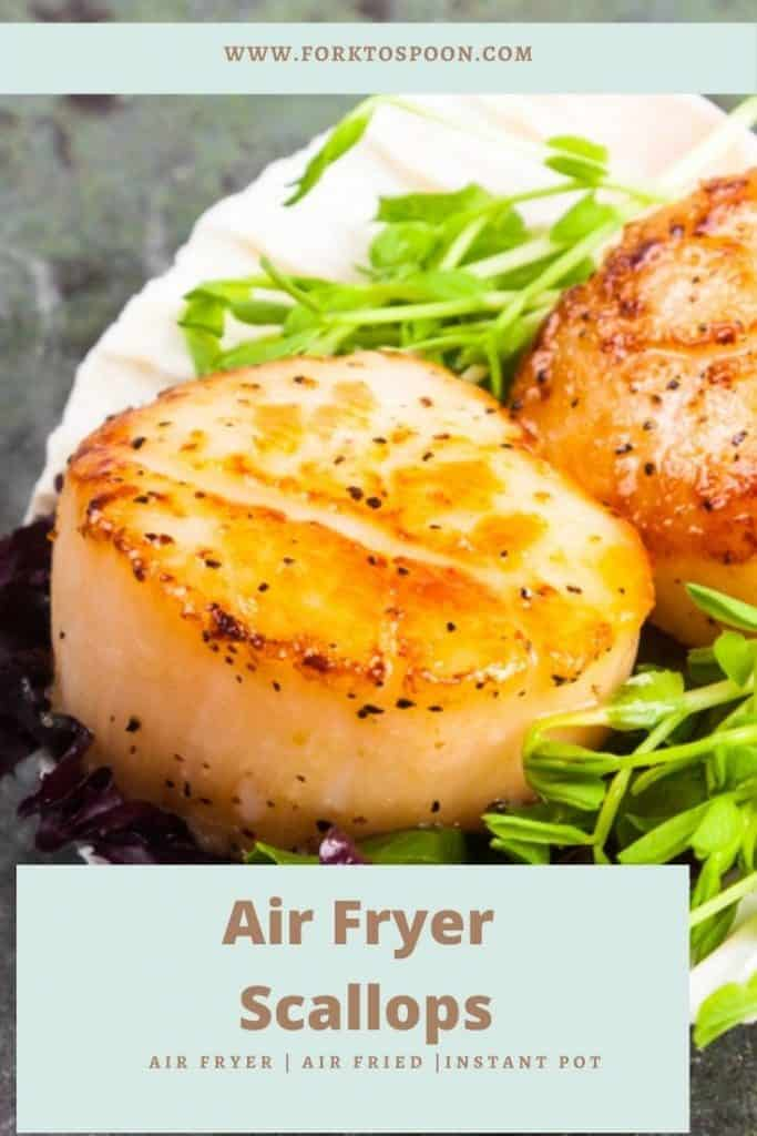 Air Fryer Scallops