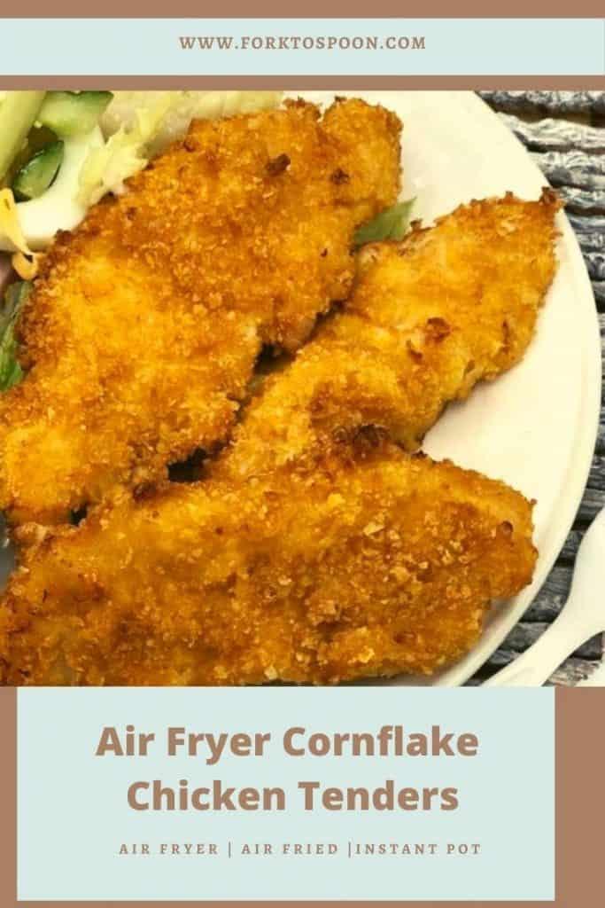 Air Fryer Cornflake Chicken Tenders