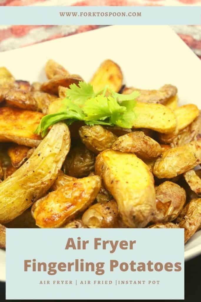 Air Fryer Fingerling Potatoes