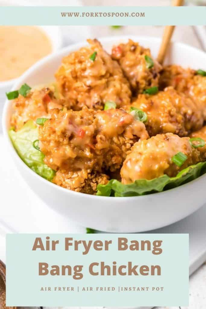 Air Fryer Bang Bang Chicken