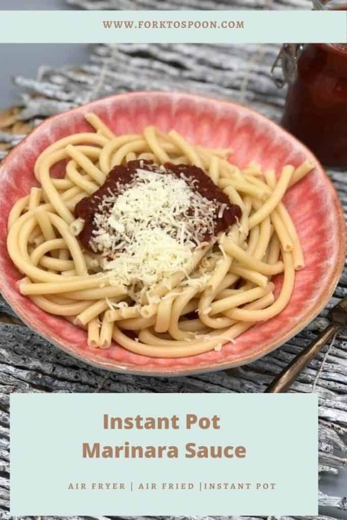 Instant Pot Marinara Sauce