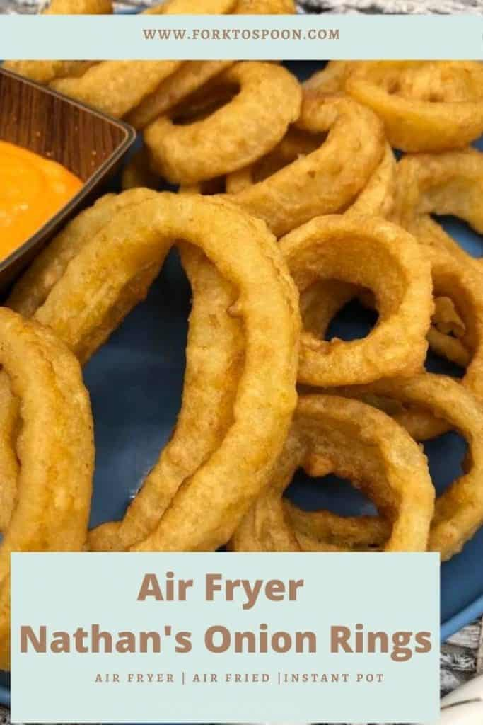 Air Fryer Nathan's Onion Rings