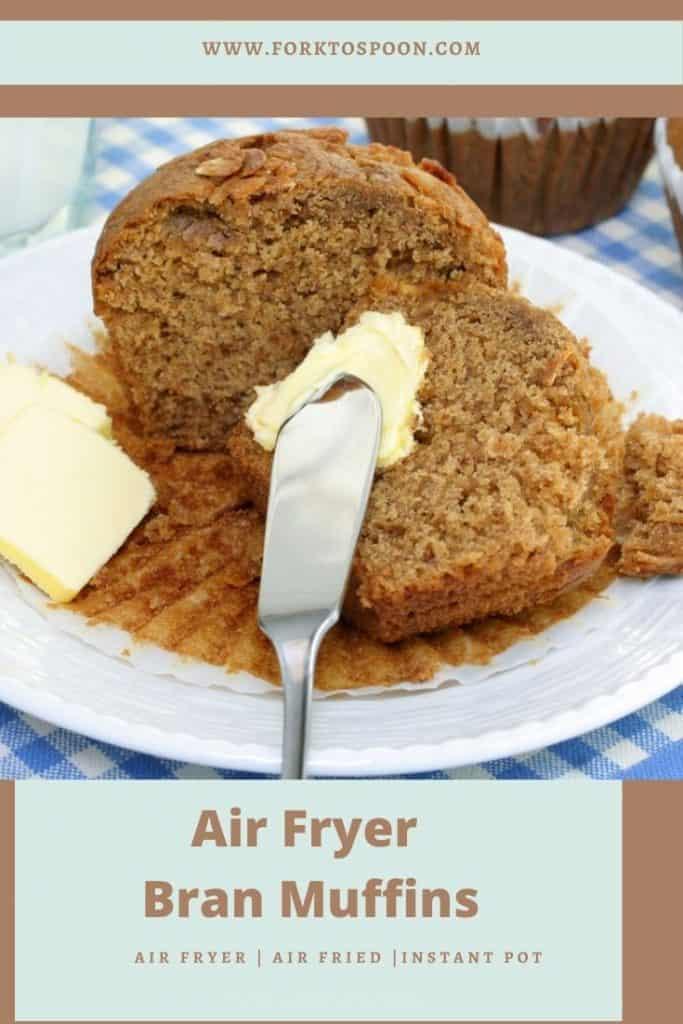Air Fryer Bran Muffins