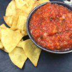 Air Fryer Gluten-Free Tortilla Chips