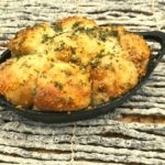 Air Fryer Garlic Parmesan Monkey Bread