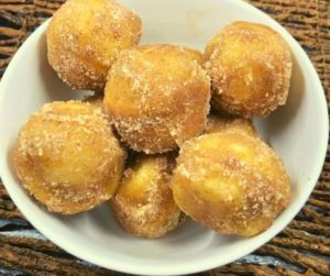 Air Fryer Cinnamon Sugar Donut Holes