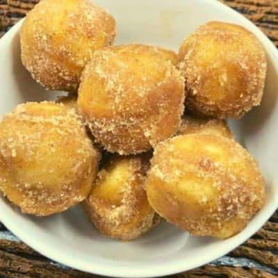 Air Fryer Cinnamon Sugar Donut Holes