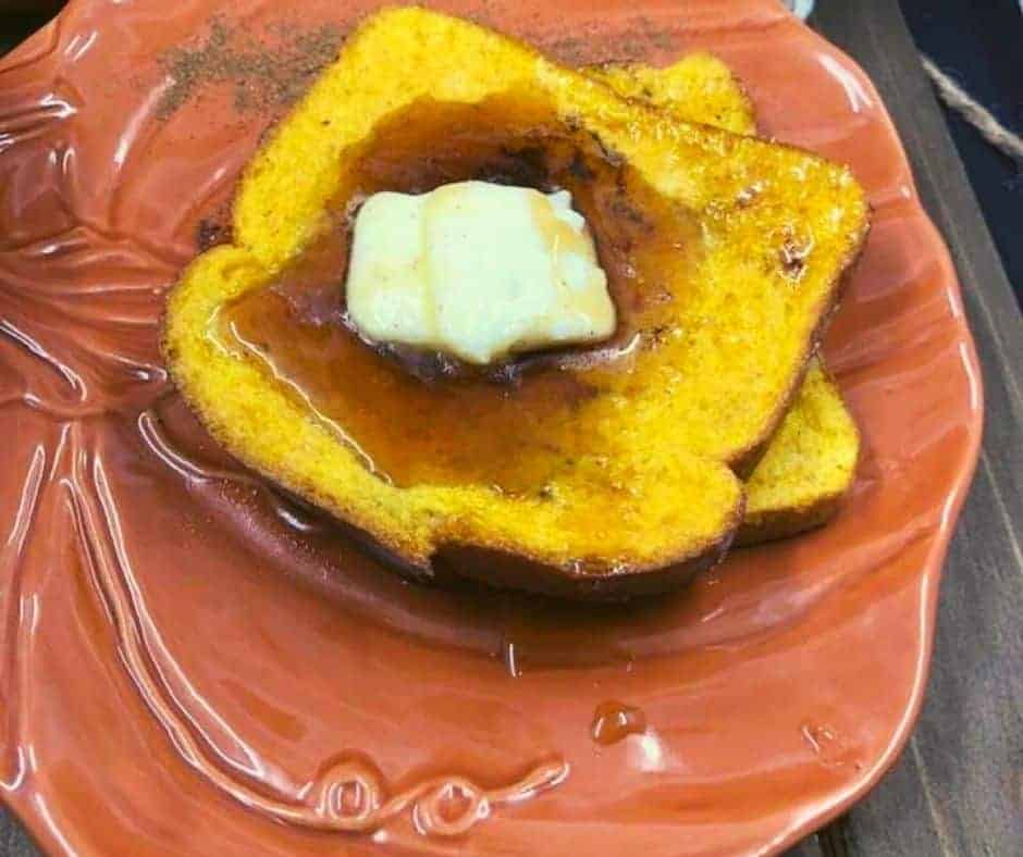 Air Fryer Pumpkin French Toast