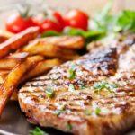 Air Fryer Garlic & Parsley Steak Fries