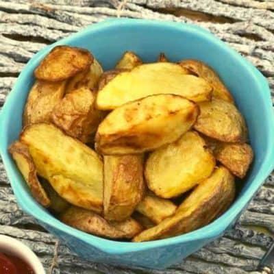 Air Fryer Roasted Yukon Potatoes