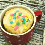 Air Fryer Vanilla Mug Cake